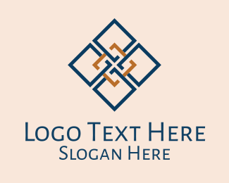 Textile Pattern - Simple Moroccan Pattern  logo design