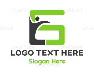 Letter G - Human Letter G logo design