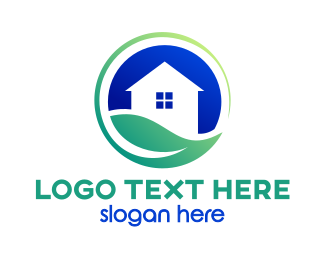 Tea House - Earth House logo design