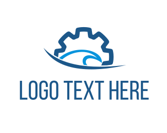 Gear - Ocean Gear logo design