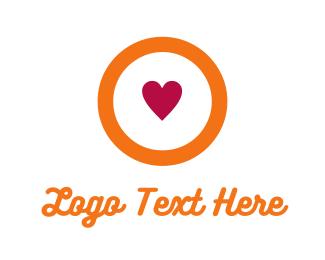 Friendly - Love Circle logo design