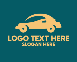 Car Club - Small Yellow Car logo design