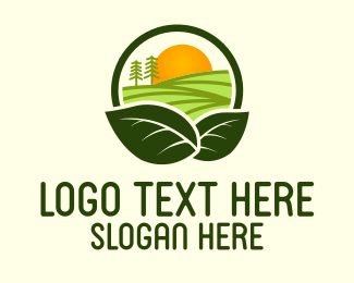 Farm - Sunshine Harvest Farm logo design