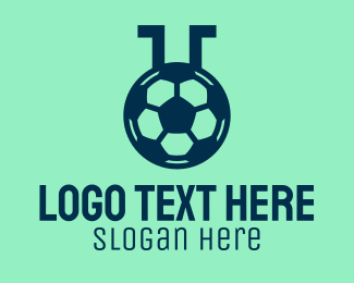 Research Lab - Soccer Sports Lab  logo design