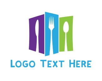 Silverware - City Food logo design