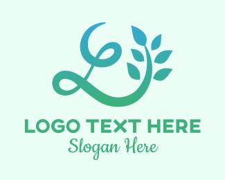 Life - Herbal Massage Letter L  logo design