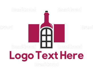 Wine - Wine House logo design