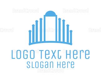 Entry - Blue Palace logo design