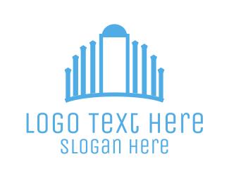 Gate - Blue Palace logo design