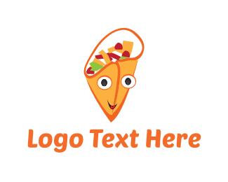 Burrito - Happy Gyro logo design