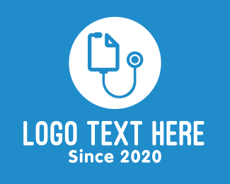 Medical Consultation - Medical Consultation Stethoscope logo design