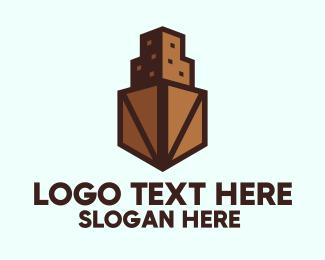 Crate - Crate Tower logo design