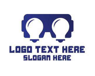 Illumination - Idea VR Gaming logo design