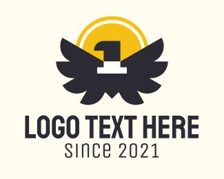 Coin - Bird Coin Number 1 logo design