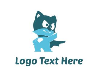 Legend - Cat Hero logo design
