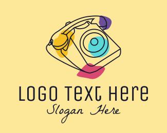 Caller - Vintage Retro Telephone logo design