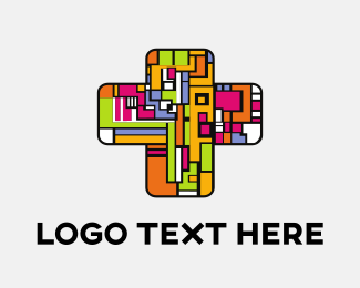 Church And Religious Colorful Church logo design