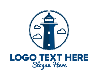 Coast Guard - Light House Tour logo design