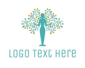 Wellness - Natural Woman logo design