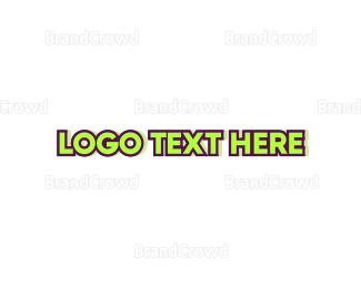 Casual - Green & Neon logo design