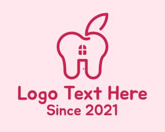 Heart - Red Apple House logo design