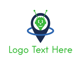 Android - Alien Point logo design