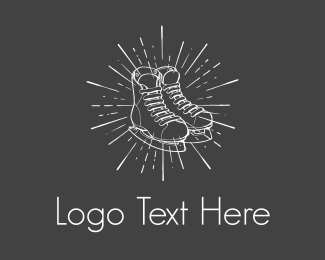 Skating - Ice Skates logo design