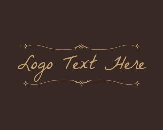 Handwritten - Classic Handwritten Text logo design