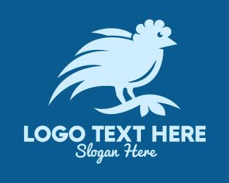 Wild Bird - Blue Wild Bird logo design