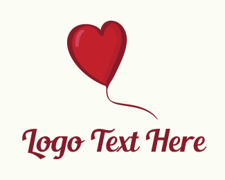 Love Balloon Logo