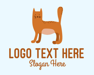 Playful - Playful Cat Letter H  logo design