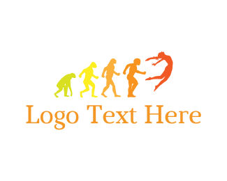 Human - Human Evolution logo design