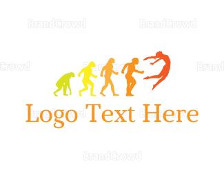 Human - Human Evolution logo design