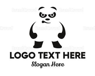 No - Furious Panda logo design