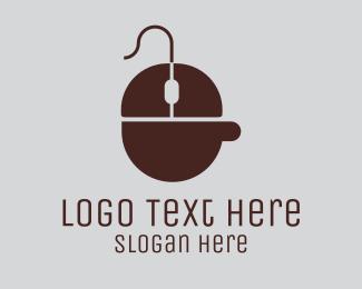 Computer - Computer Coffee Cafe logo design