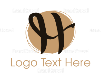 """""""Curly Letter H"""" by eightyLOGOS"""
