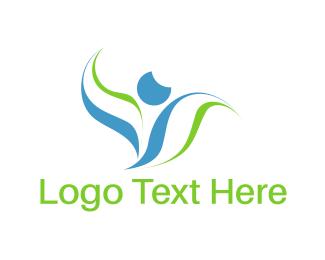 Human Leaves Logo