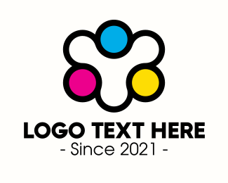 Cmyk - Community Printing Company logo design