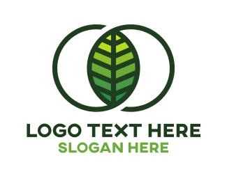 Endless - Infinity Leaf logo design
