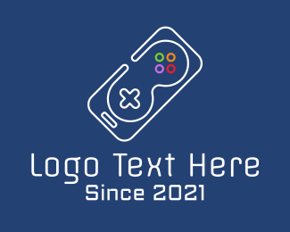 Mobile Phone - Gaming Mobile Phone logo design