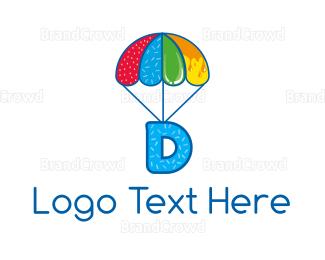 Caramel - Sweet Letter D logo design