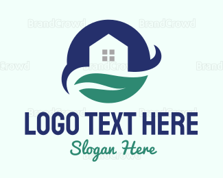 Decoration - Moon Leaf House  logo design