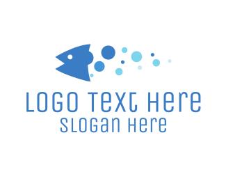 Bubble Fish Logo