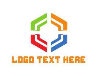 """""""Colorful Hexagon"""" by LogoBrainstorm"""