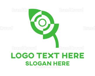 Mice - Green Mouse logo design
