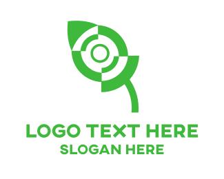 Click - Green Mouse logo design