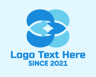 Business - Blue Abstract Business logo design