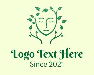 Tree - Organic Skin Care logo design