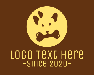 Bone -  Dog Bone Food logo design