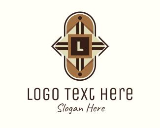 Tribal - Tribal Shield Lettermark logo design